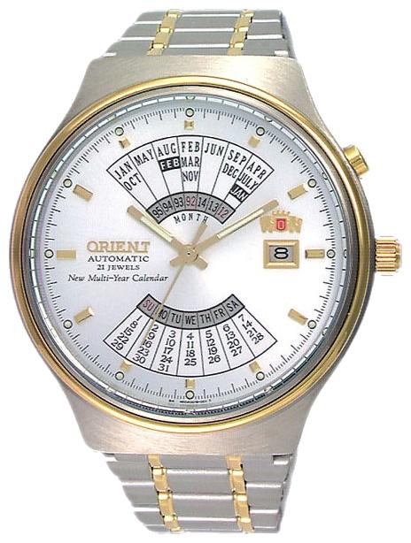 reloj hombre automático Orient Multi-year FEU00000W acero