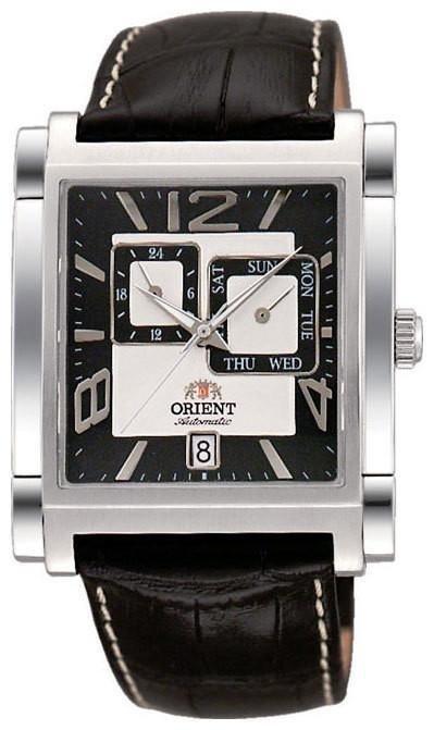 reloj hombre automático Orient  Galant FETAC006B rectangular correa cuero