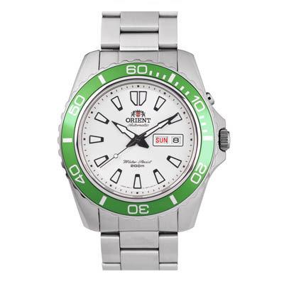 reloj hombre automático Orient Mako XL FEM75006W acero verde