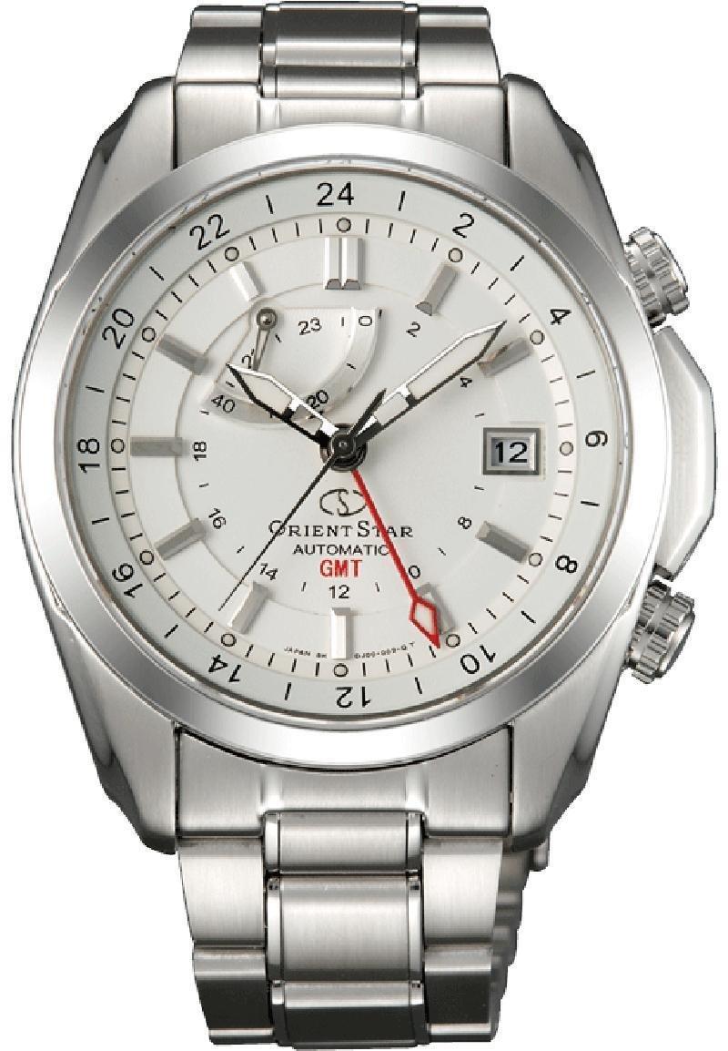 Reloj hombre automático Orient Star GMT Star Seeker SDJ00002W cristal de zafiro