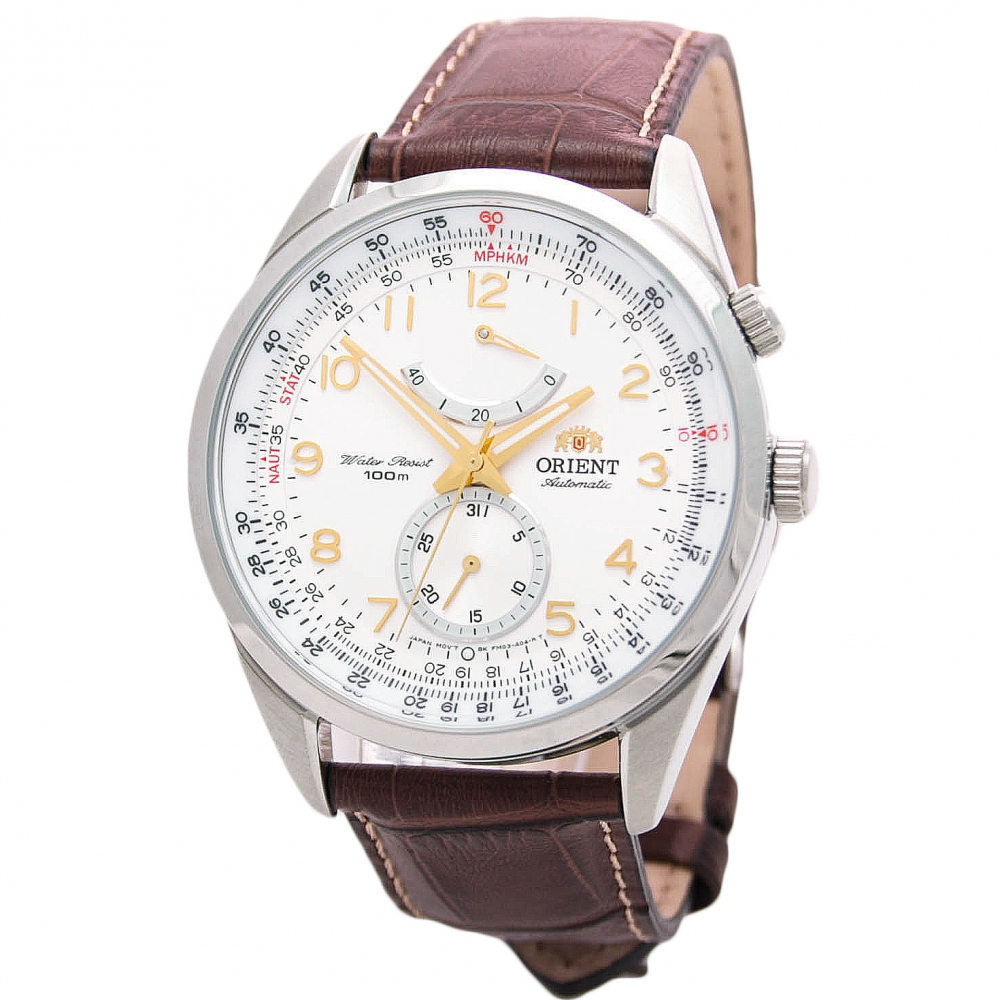 Reloj hombre automático Orient FFM03005W correa cuero Power Reserve