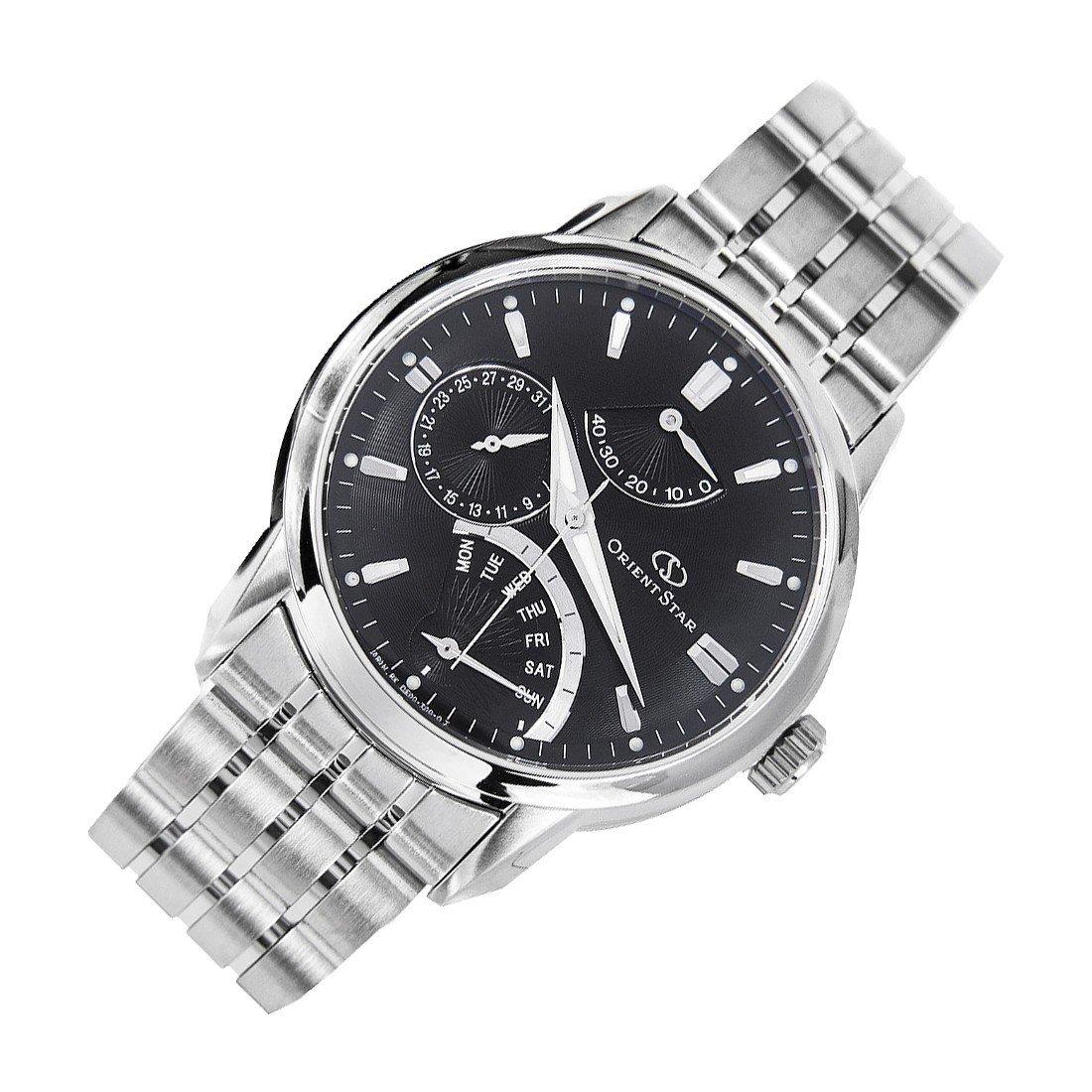 reloj hombre automático Orient Star SDE00002B cristal de zafiro