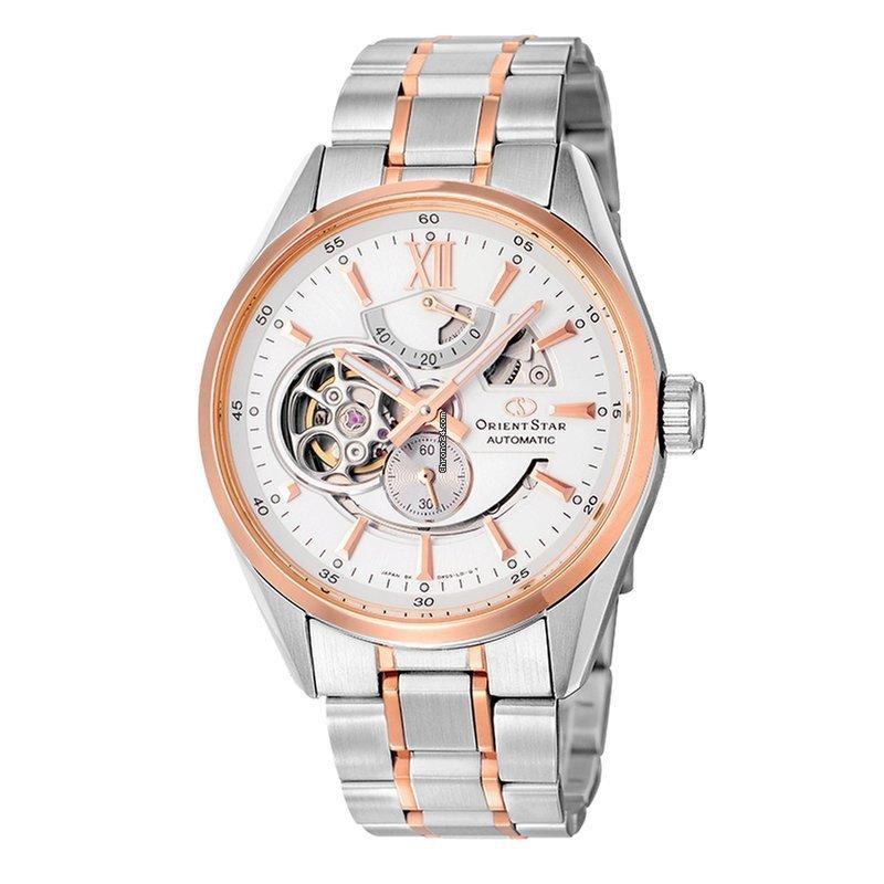 reloj hombre automático Orient Star SDK05001W zafiro correa acero