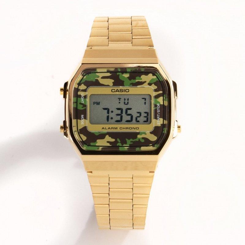 Reloj CASIO Gold Camouflage A168WEGC-3