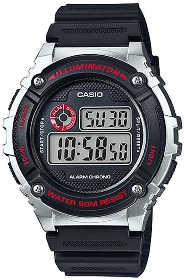 Reloj Casio Digital W-216H-1C