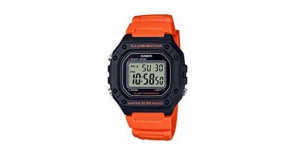 Reloj CASIO digital caballero W-218h-4b2 CASIO