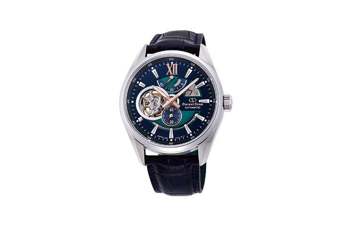 reloj hombre automático Orient Star RE-DK0002L cuero zafiro Edición Limitada