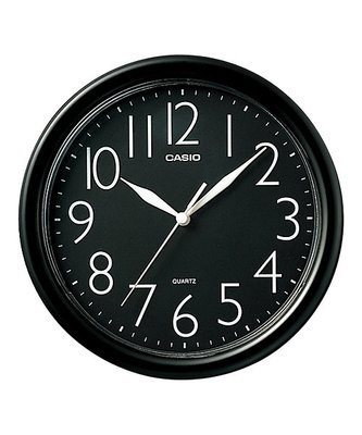 Reloj de pared analógico Casio IQ-01-1R