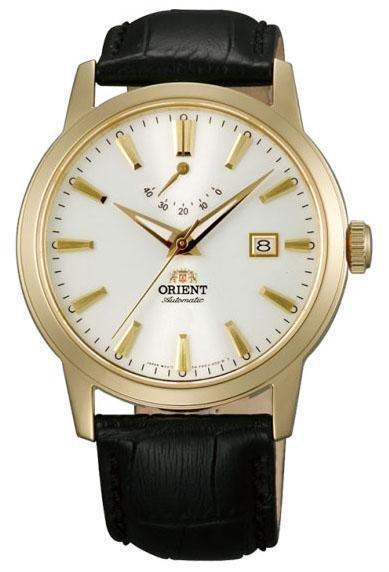 reloj hombre automático Orient FAF05002W Curator II zafiro correa cuero