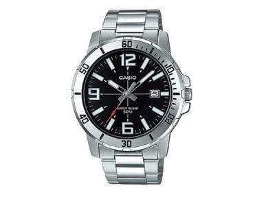 Reloj analogico caballero CASIO MTP-VD01D-1BV correa de acero