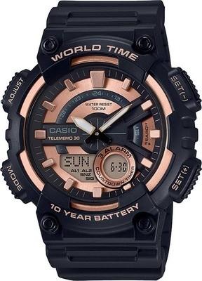 Reloj CASIO AEQ-110W-1a3 WORLDTIME 10 AÑOS BATERÍA