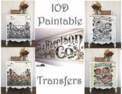 Paintable Decor Transfers