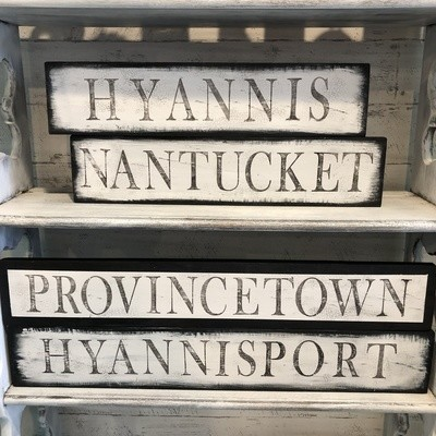 Rustic Signs - Sunday 02/09/2020 @ 2 - 4:30 pm