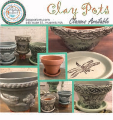 Clay Pots -Sunday, October 20 @ 2 - 4:30 pm