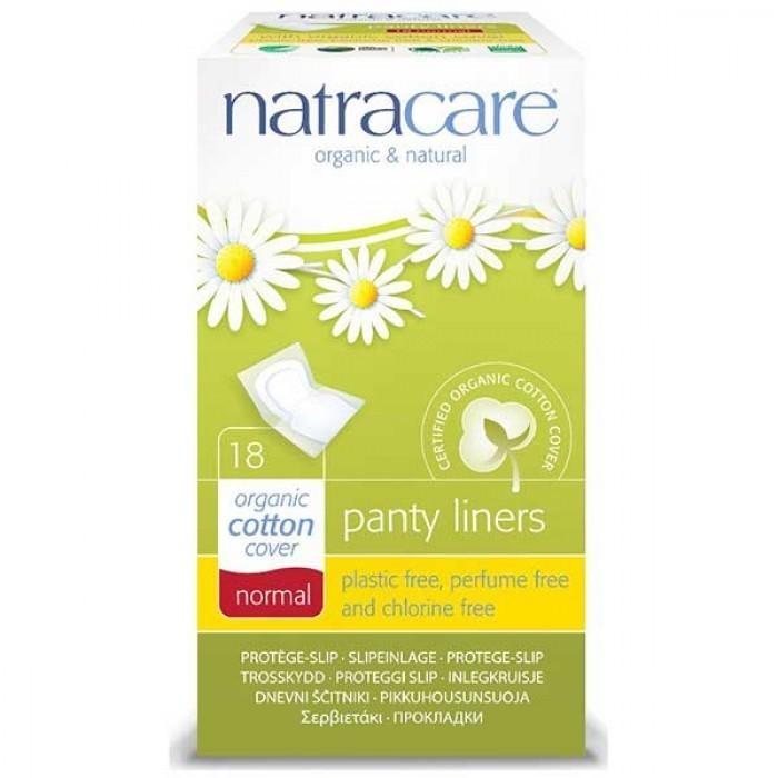 """Natracare. Прокладки на каждый день — """"Закругленные"""", 18 шт. в индивидуальной упаковке"""