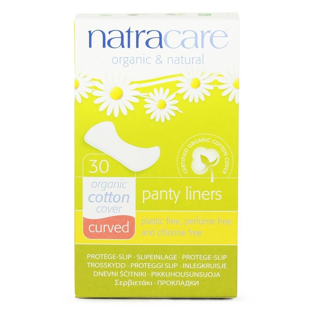 """Natracare. Прокладки на каждый день — """"Закругленные"""", 30 шт."""