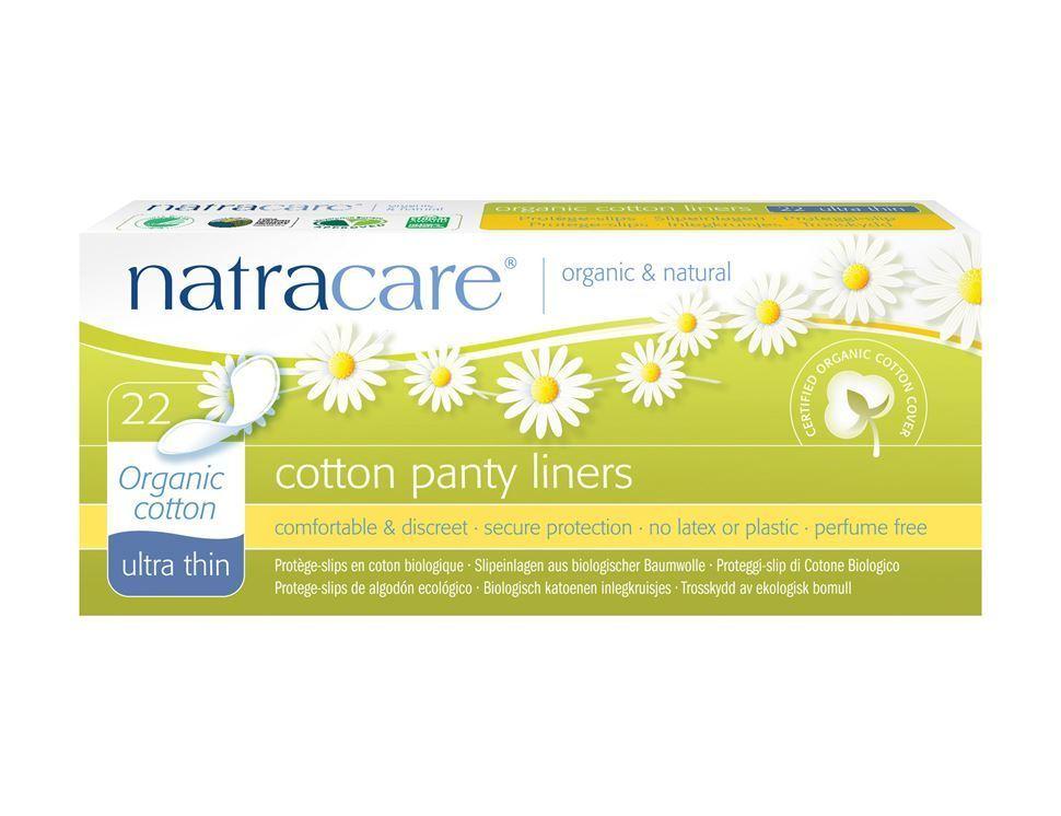 """Natracare. Прокладки на каждый день - """"Ультратонкие из биохлопка"""" 22 шт."""