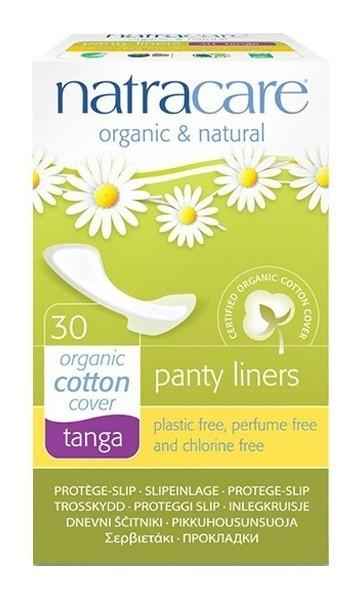 """Natracare. Прокладки на каждый день — """"Танга"""". 30 шт."""