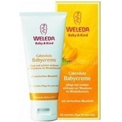 Weleda. Крем с календулой для младенцев для защиты кожи в области пеленания, 75 мл