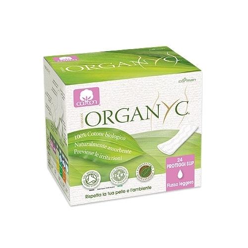 Organyc Прокладки на каждый день в индивидуальной упаковке 1 капля 24 шт.