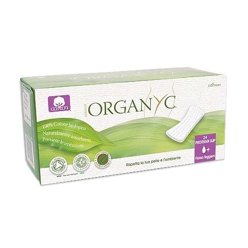 Organyc Прокладки на каждый день 1+ капля 24 шт.