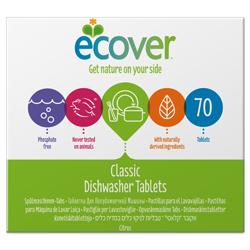 Ecover. Таблетки для посудомоечной машины 70 шт., 1400 г