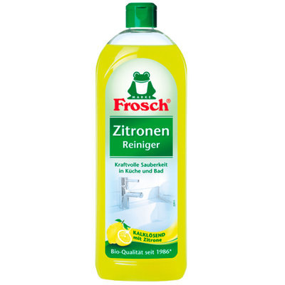Frosch. Универсальное чистящее средство «Лимон», 750 мл