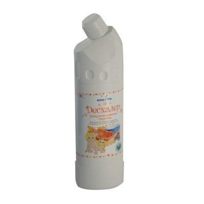 Ecolife. Дескалер средство для мытья детских ванночек и горшков, 1000 мл