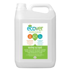 Ecover. Жидкость для мытья посуды с лимоном и алоэ-вера, 5 л