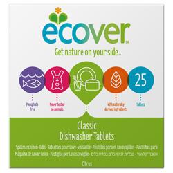 Ecover. Таблетки для посудомоечной машины 25 шт., 500 г