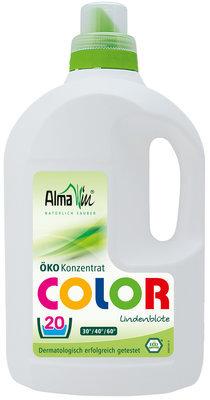 Almawin. Жидкость для стирки Color Vollwaschmittel fluessig, 1.5 л