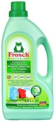 Frosch. Универсальное концентрированное жидкое средствово для стирки, 1.5 л