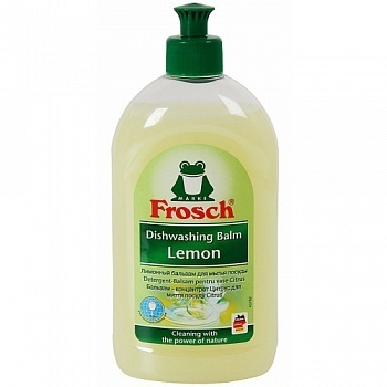 Frosch. Бальзам для мытья посуды «Лимон», 500 мл