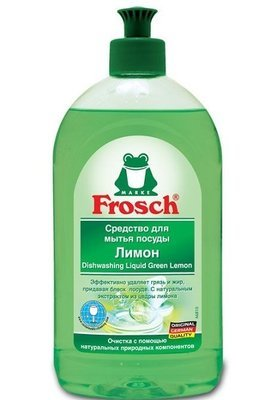 Frosch. Средство для мытья посуды «Лимон», 500 мл