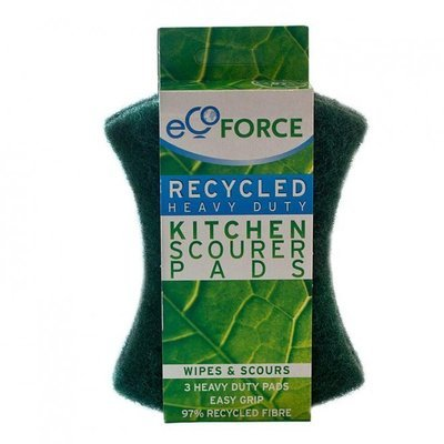 EasyDo. Кухонные губки (зеленые) EcoForce, 3 шт.