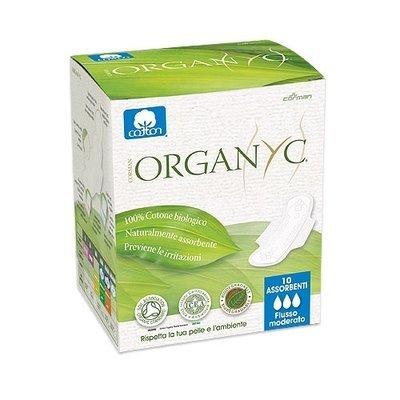 Organyc Прокладки с крылышками Нормал, ультратонкие 3 капли 10шт.