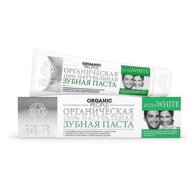 ORGANIC PEOPLE. Паста зубная Extra White, 100 мл