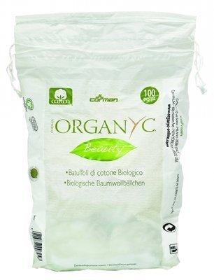 Organyc Ватные шарики из органического хлопка 100шт.