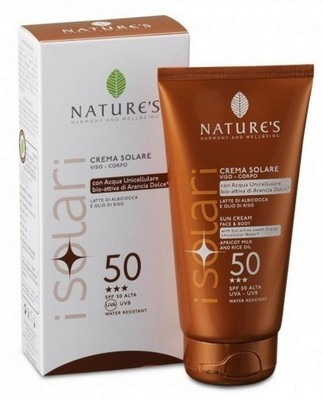 Nature`s. Sun Wellbeing. Крем от солнца SPF-50, 150 мл