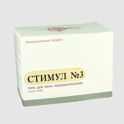 DETSINA. Соль для ванн «Стимул» №3 с экстрактом развивающегося куриного эмбриона, 370 г