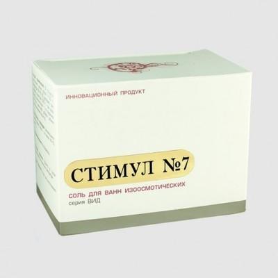 DETSINA. Соль для ванн «Стимул» №7 с экстрактом пророщенных семян овса, 370 г