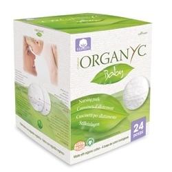 Organyc Впитывающие вкладыши для груди, 24 шт.
