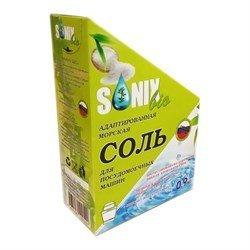 SonixBio. Адаптированная морская кристаллическая соль для посудомоечных машин, 900 г