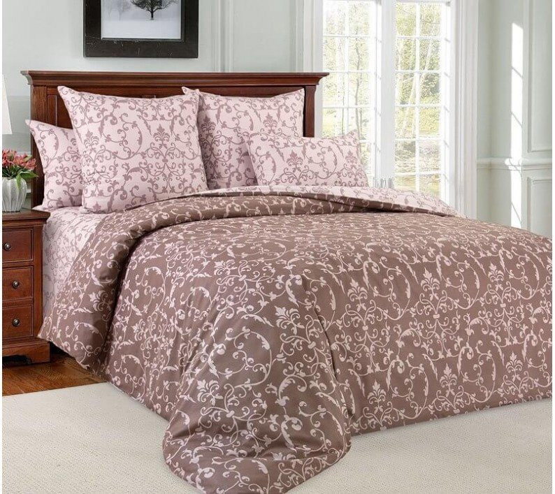 Комплект постельного белья 2-спальный, поплин (Вирджиния)