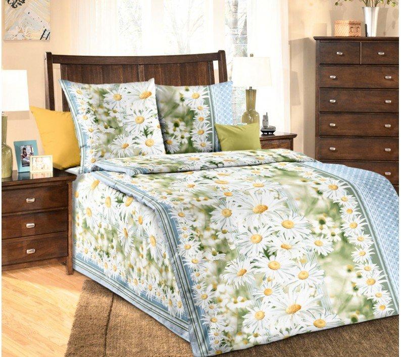 """Комплект постельного белья 1,5-спальный, бязь """"Люкс"""" (Раздолье 3 D)"""