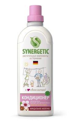 Synergetic. Кондиционер для белья миндальное молочко, 1 л
