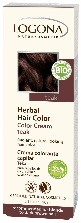 Logona. Крем-краска для волос «ТИК» 150мл