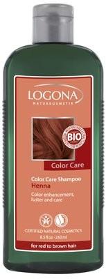 Logona. Color Care. Шампунь для рыжих и коричневых волос с хной, 250 мл