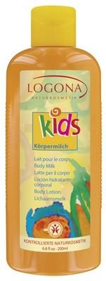 Logona. Детское молочко для тела, 200 мл