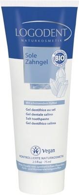 LOGONA LOGODENT гелевая зубная паста «Солевая»